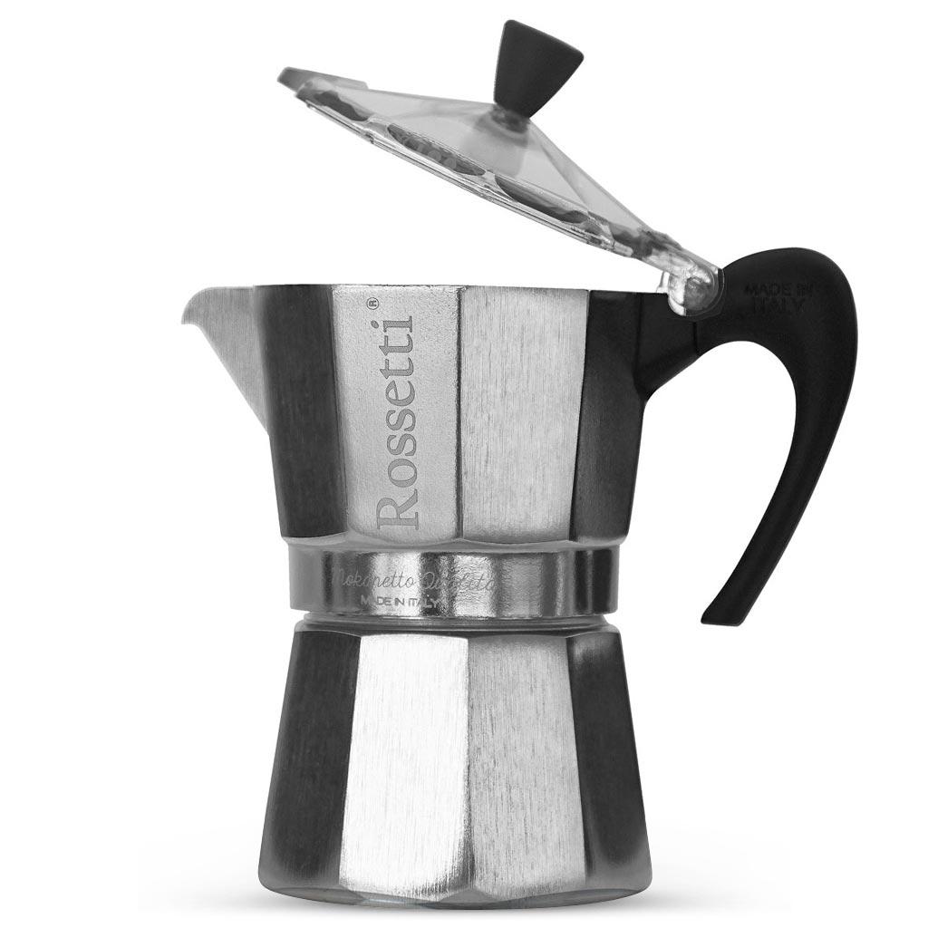 Rossetti Moka Italian 6 Espresso Cup Moka Coffee Espresso Maker Pot