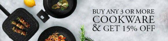 Shop Rossetti Healthy Cookware Fry Pans, Skillets, Saute Pans, Grill Pans, Casserole