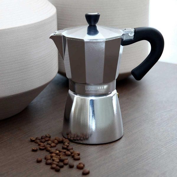 Espresso Stovetop Moka Coffee Espresso Maker Pot 6 Cups