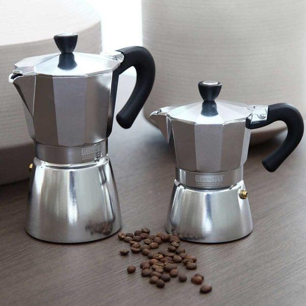 Rossetti Espresso Stovetop Moka Coffee Espresso Maker Pot 3 Cups