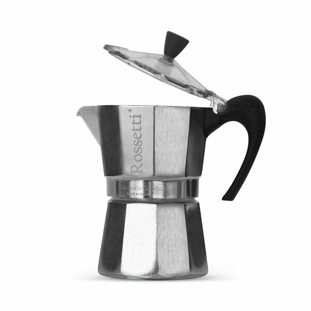 Rossetti Moka Italian 3 Espresso Cup Moka Coffee Espresso Maker Pot